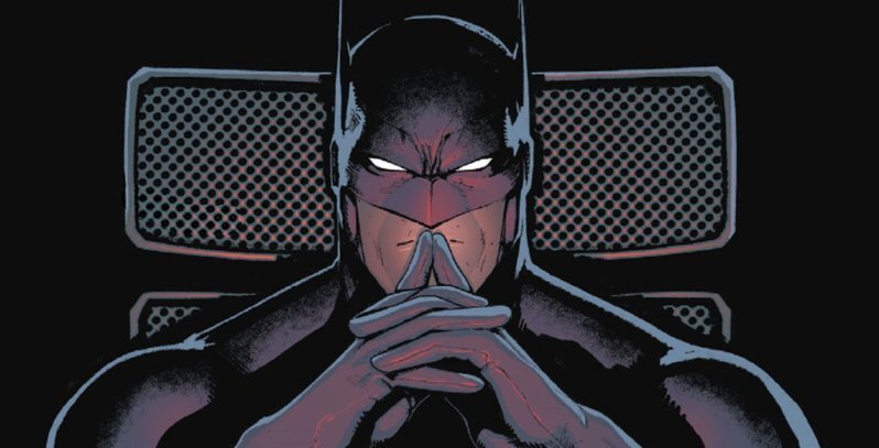 Batman thinking