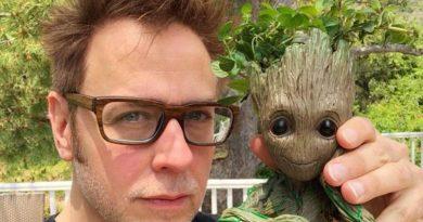 James Gunn com Groot