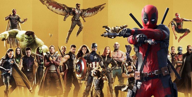 Deadpool e a Marvel heheh