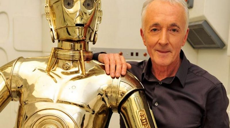Star Wars Anthony Daniels C3PO