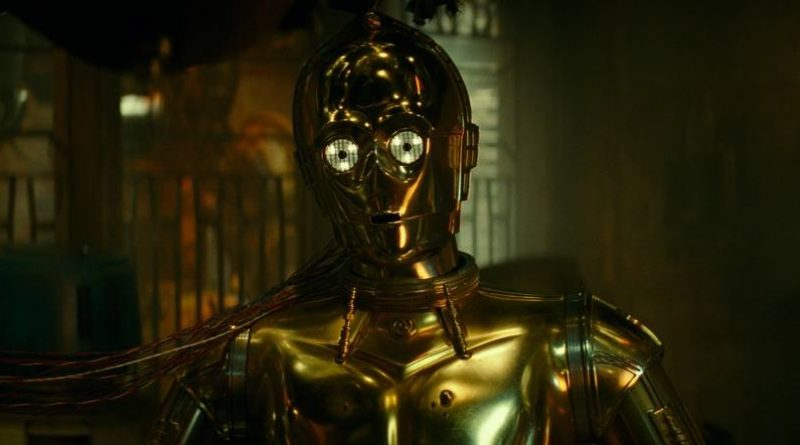 C-3PO Star Wars The Rise Of Skywalker trailer final