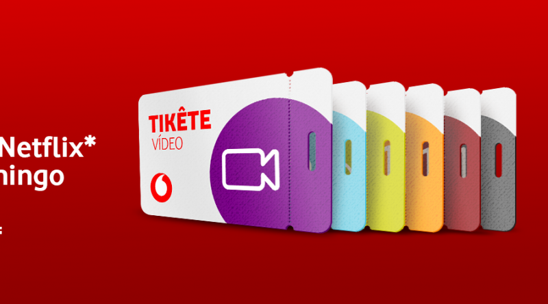 Vodacom Tikete-Video-YouTube-e-Netflix