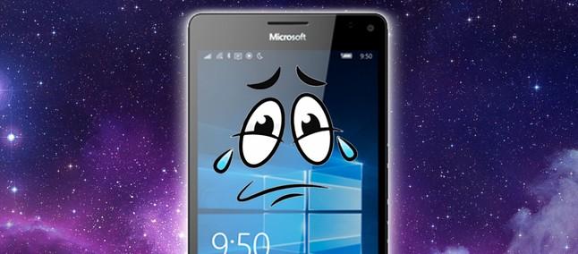 Adeus Windows Phone