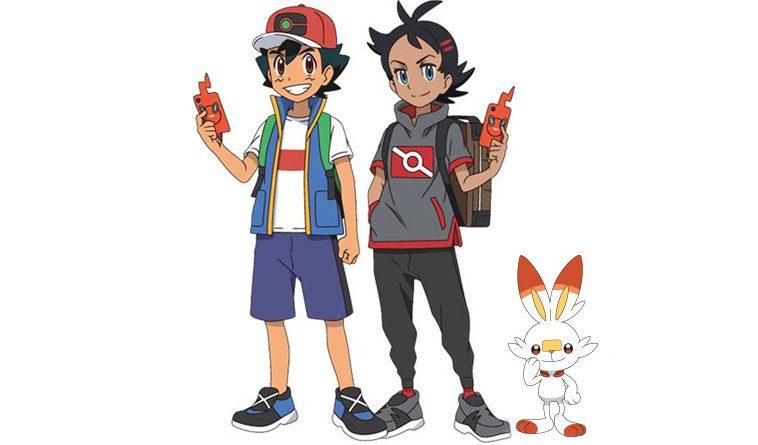 Pokémon Ash e Gou