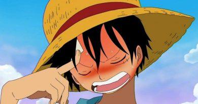 Luffy Pensando