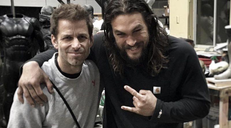 Zack Snyder & Jason Momoa