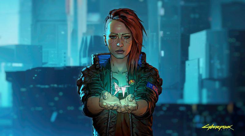 Cyberpunk 2077 V-Origami