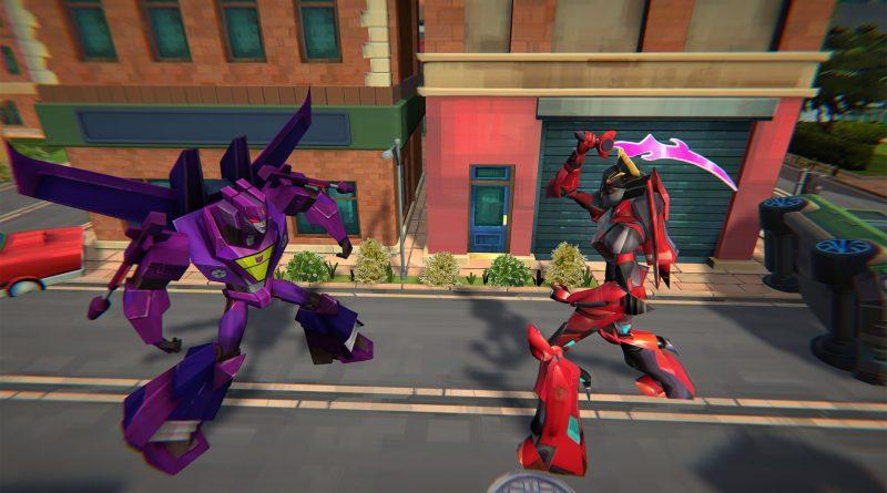 Captura de tela de Transformers: Battlegrounds