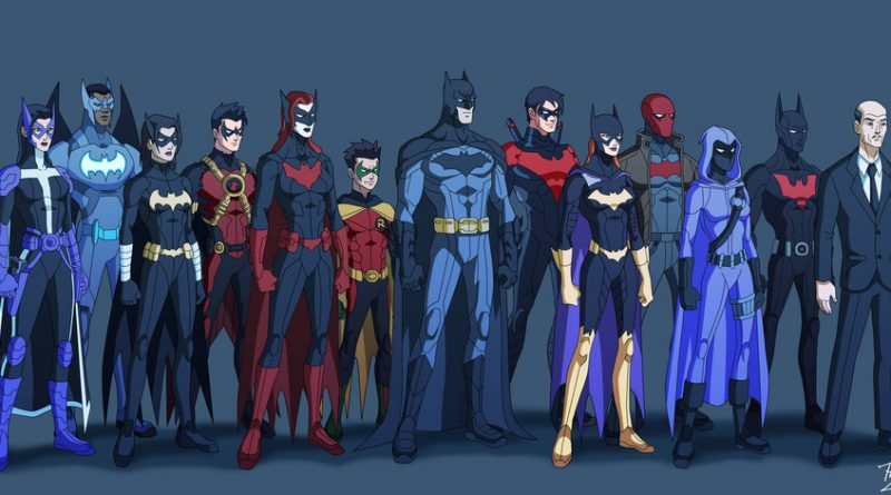 Bat-família- Gotham Crusaders